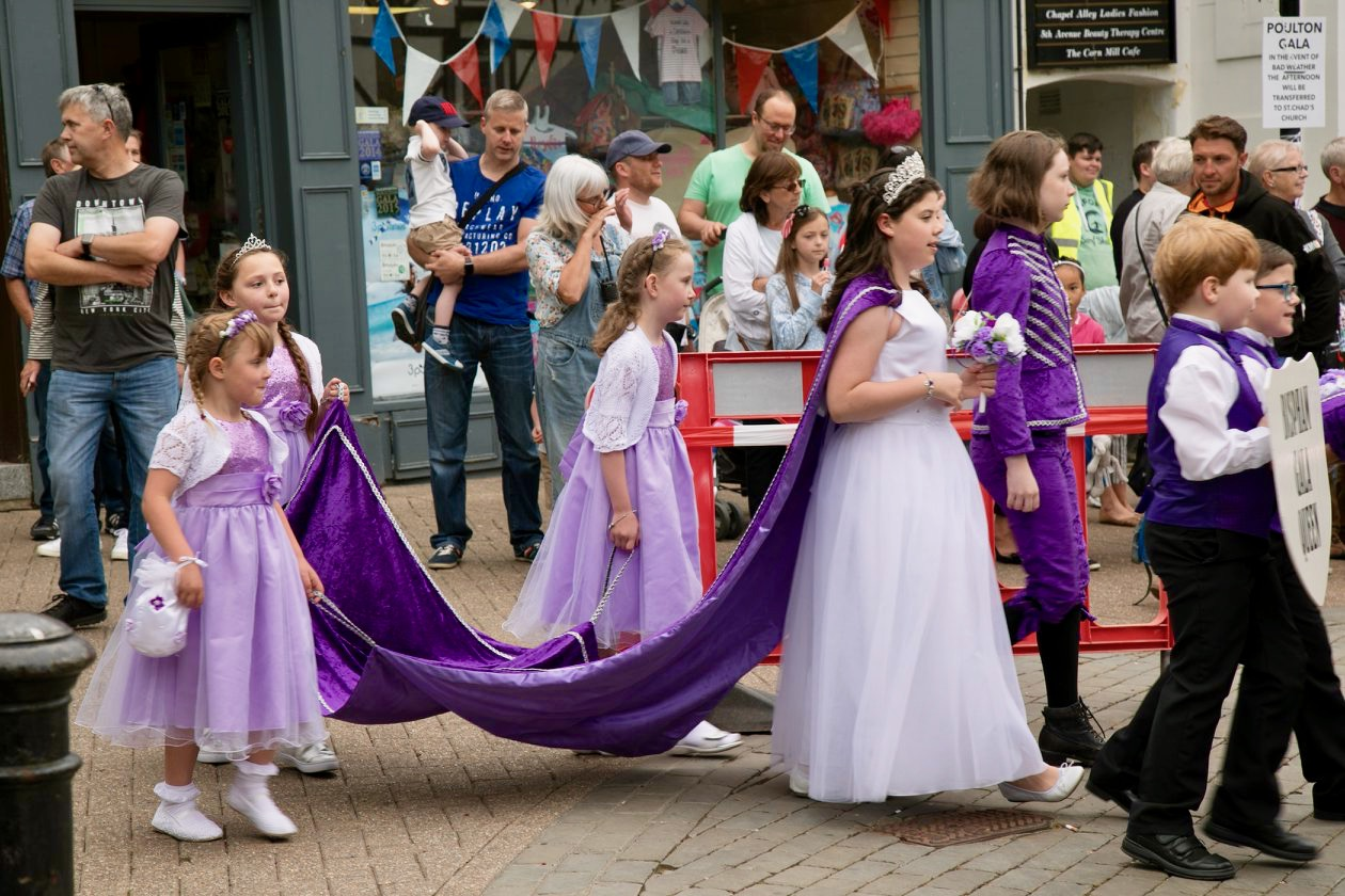 Poulton Gala 2018 Crowning Ceremony